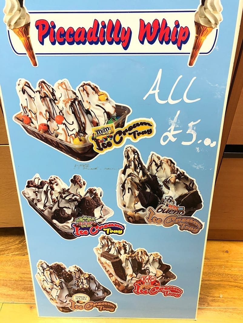 Ice Cream Home Deliveries Menu 1